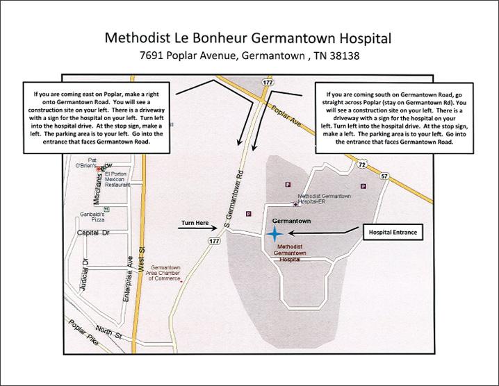 GermantownMethodistMap